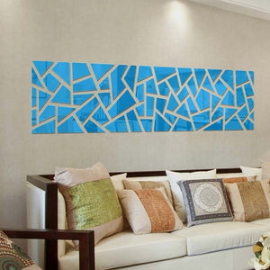 Mosaic Wall Mirror Devinare' (4 sizes) Self Adhesive SKU# MOS0019