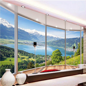 3D Wallpaper Nature Panorama Scenic View SKU# WAL0260