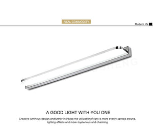 Wall Linear LED Mirror for Bathroom AC90-260V SKU# LIG0103
