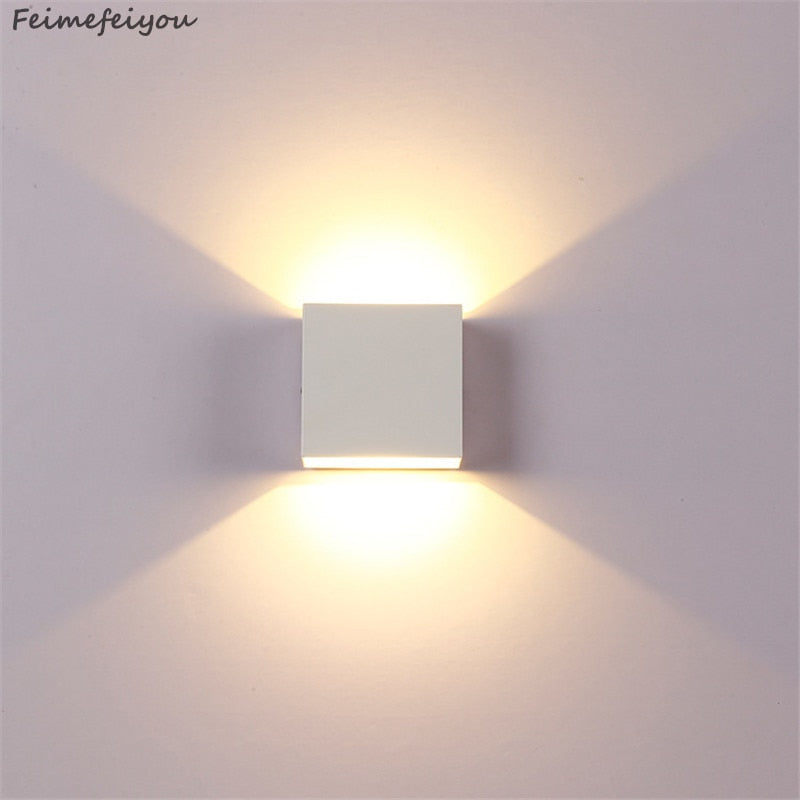 LED Wall Cube Sconce Direct/Indir Decorative SKU# LIG0030