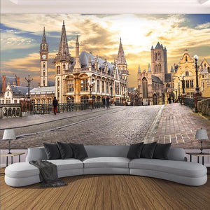 3D Wallpaper City of London Papel Mural SKU# WAL0227