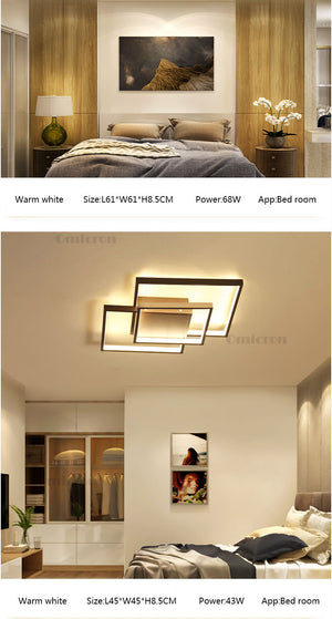 LED Plafonnier de Teto Beautiful Ceiling-Various Styles SKU# LIG0062