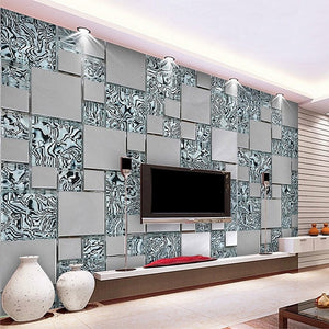 3D Wallpaper Modern Mosaic SKU# WAL0042