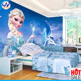 3D-HD Wallpaper Frozen Snow Girl Fantasy Mural Waterproof & Mildew Proof SKU# WAL0100
