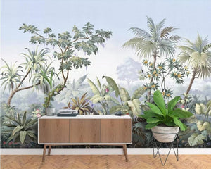 3D Wallpaper European Retro Rainforest Waterproof SKU# WAL0098