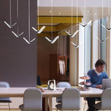 LED Nordic Creative Flying Seagull Pendant Luminaire SKU# LIG0035