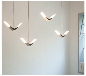 LED Nordic Flying Seagull Pendant or Wall Sconce SKU# LIG0035