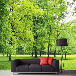 3D Wallpaper Wall Mural Forest Waterproof SKU# WAL0127