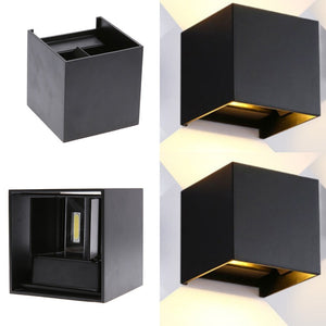 LED Cube Adjustable Wall Sconce Warm White Indoor SKU# LIG0047