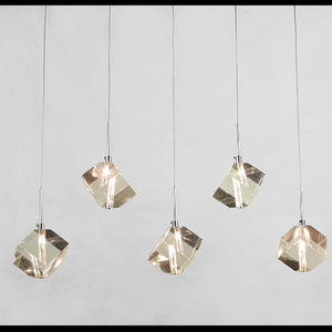 LED Diamonds in the Sky Polished Crystal Pendant SKU# LIG0044