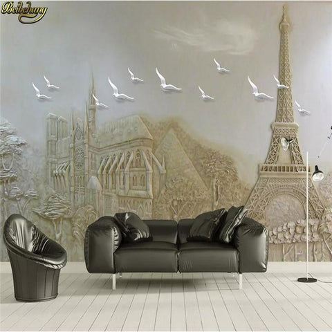 3D-HD Custom Wallpaper Embossed Landscape Waterproof & Mildew Proof SKU# WAL0049