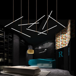 Matrix LED Frosted Pendant Light Suspension SKU# LIG0051
