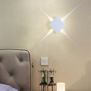 LED Wall Sconce Matrix Cross/Star 85V-265V SKU# LIG0048