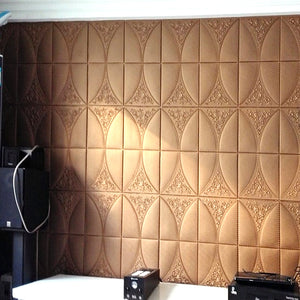3D Wallpaper Wall Brick Waterproof SKU# WAL0137