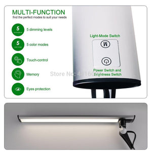 LED Dimmable Memory Function Touch Control Lamp SKU# LIG0072