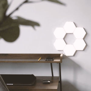 Helios Touch LED Hexagonal Wall Sconce SKU# LIG0079
