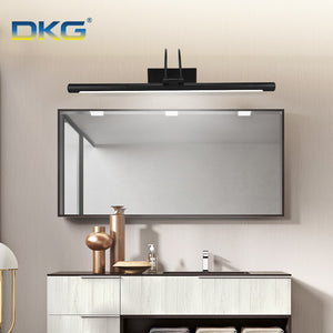 LED Polished Silver or Balck Vanity Wall Sconce SKU# LIG0038