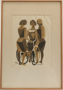 'The Bicyclists' by Adrian van Arkel