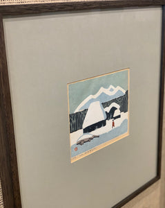 'Countryhouse in Snow' by Umetaro Azechi