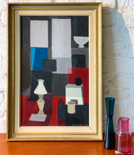 Load image into Gallery viewer, 'Still Life in Blue and Red' by Richard Björklund