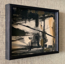 Load image into Gallery viewer, 'Abstract in Black and Brown' by Carl Runnström