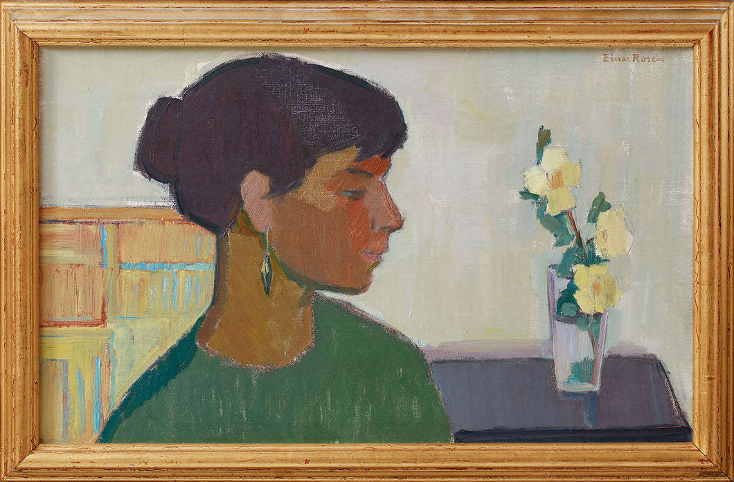 'Woman in Profile' by Einar Rosén