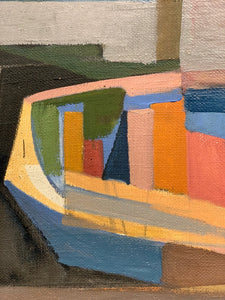 'Cubist Boat' by Ecke Hernæus