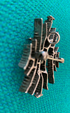 Load image into Gallery viewer, Abstract brooch / pendant in sterling silver by Else & Paul Hughes, Norway