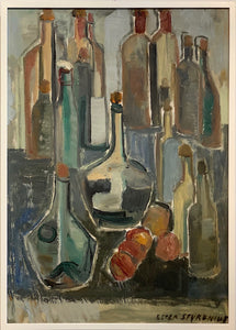 'Still Life With Bottles' by Ester Styrenius
