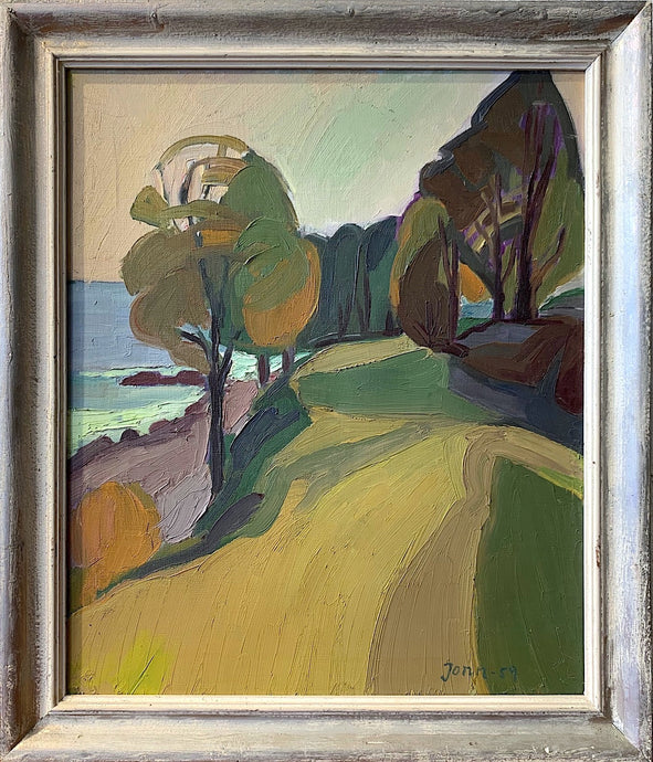 'Slänt mot havet, Ven' (Sloping Towards the Sea, Ven) by Gunnar Jonn