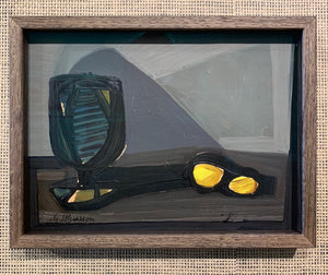 'Still Life With Glass and Lemons' by Gunnar Johnsson
