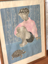 Load image into Gallery viewer, 'Boy With Turtle' by Hans Gerhard Sørensen