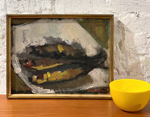'Still Life with Fish' by Hanna Brundin
