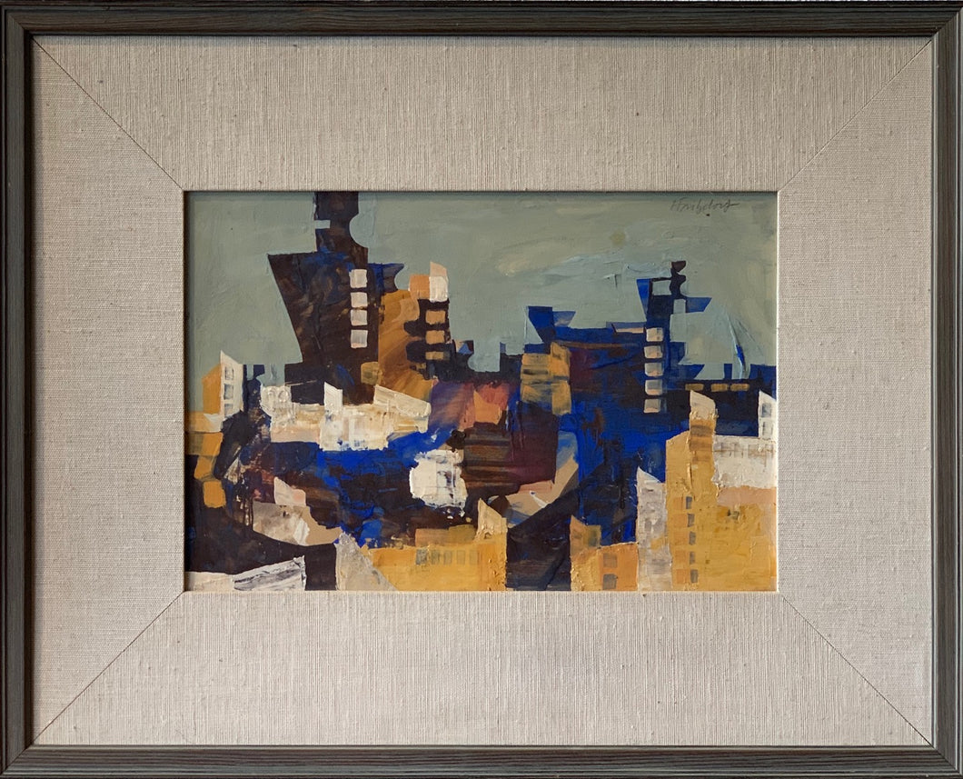 'Abstract Cityscape'' by Hans Fritzdorff