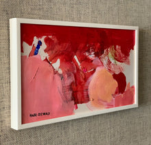 Load image into Gallery viewer, 'Red and Pink Abstract' by Hans Osswald
