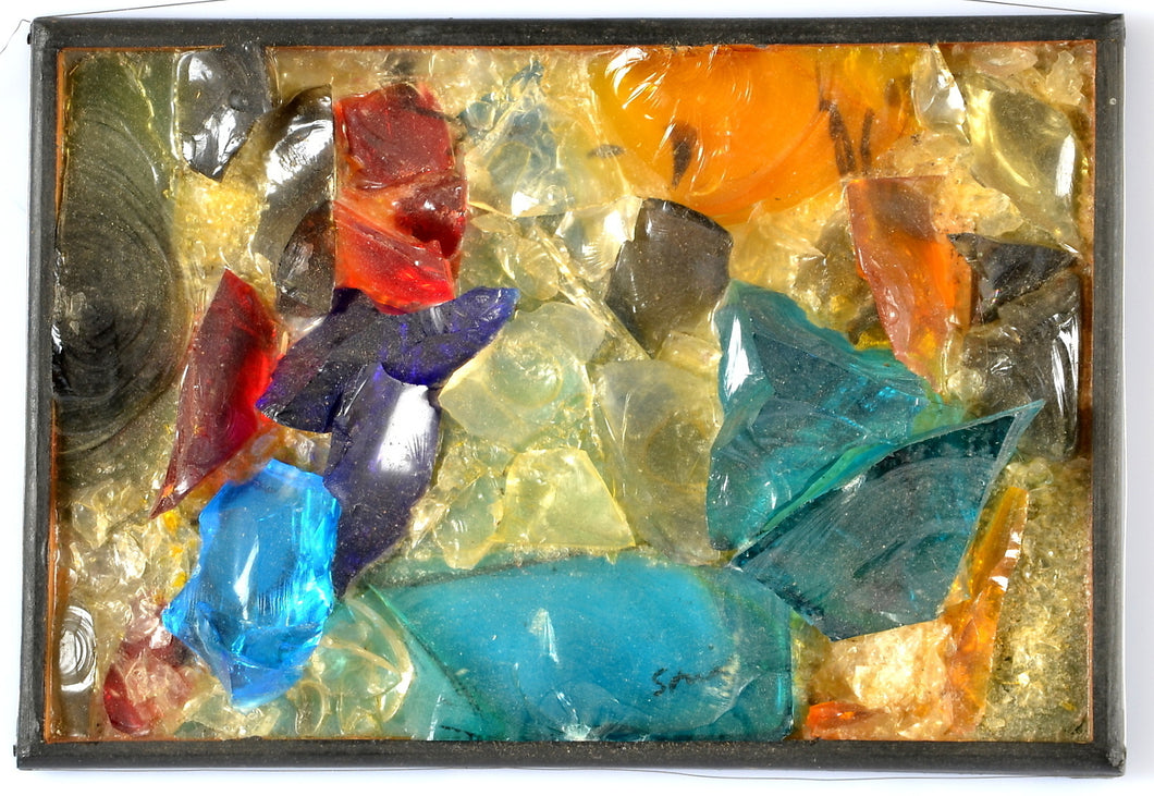 'Untitled' (glass assemblage) by Hardy Strid