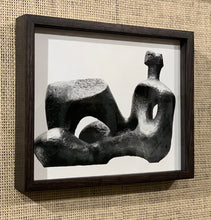 Load image into Gallery viewer, 'Reclining Figure, 1957 Sculpture by Henry Moore' - original vintage press photograph