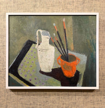 Load image into Gallery viewer, 'Still Life with Vase and Paint Brushes' by John Börén