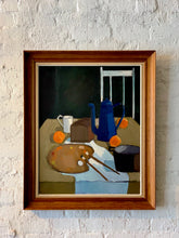 Load image into Gallery viewer, 'Blue Coffeepot' by Knud Laursen