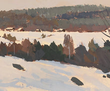 Load image into Gallery viewer, 'Nordic Winter Landscape' by Bruno Karlsson