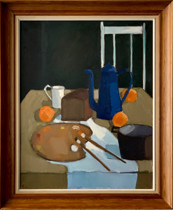 'Blue Coffeepot' by Knud Laursen