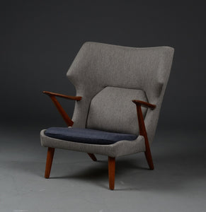 Teak easy chair - Kurt Olsen