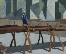 Load image into Gallery viewer, 'Figure on Bridge' by Lars Frick
