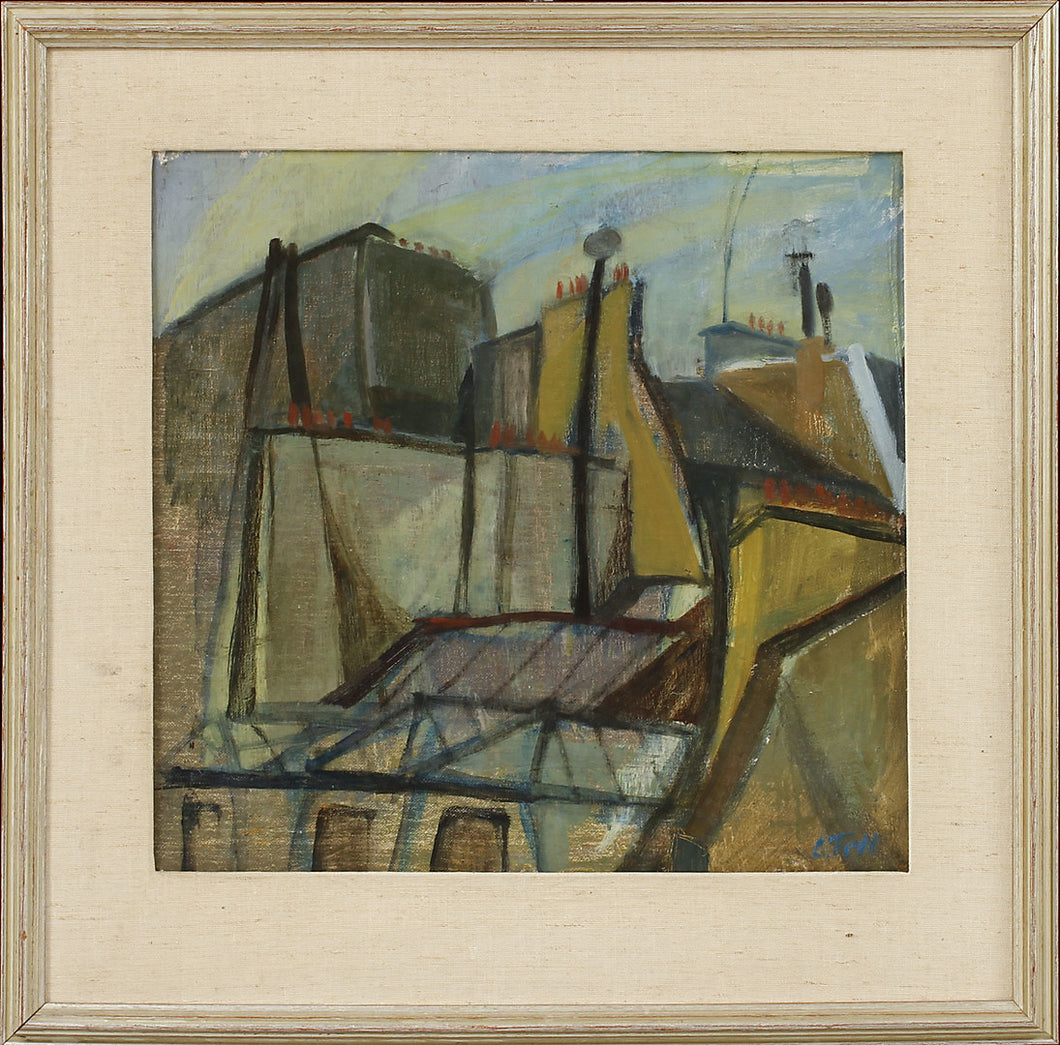 'Paris Rooftops' by Lillemor Tell
