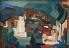 Load image into Gallery viewer, 'Cityscape, Lumio La Corse' by Lennart Frisk