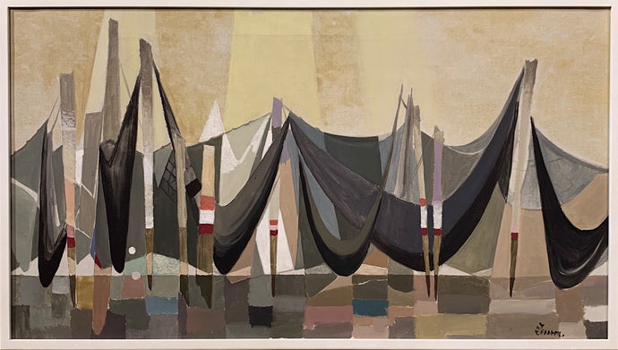 'Composition with Fishing Nets' by Ove Persson
