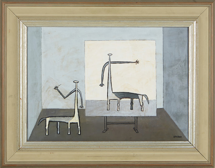 'Figure Composition' by Paul Ströyer