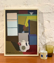 Load image into Gallery viewer, 'Stilleben med vit kaffekanna' (Still Life with White Coffee Pot) by Richard Björklund