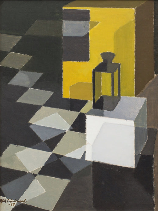 'Svart vitt gult' (Black, White and Yellow) by Richard Björklund