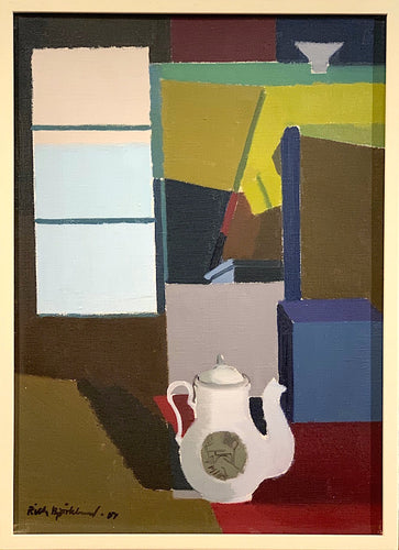 'Stilleben med vit kaffekanna' (Still Life with White Coffee Pot) by Richard Björklund